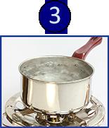 Boil drinking water