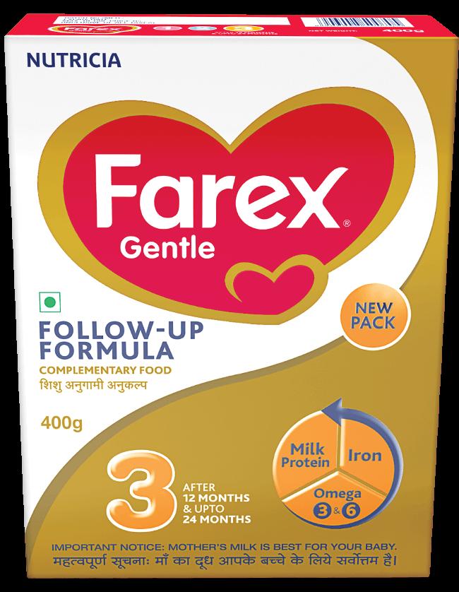 Farex Gentle Stage 3 Follow Up Formula Refill