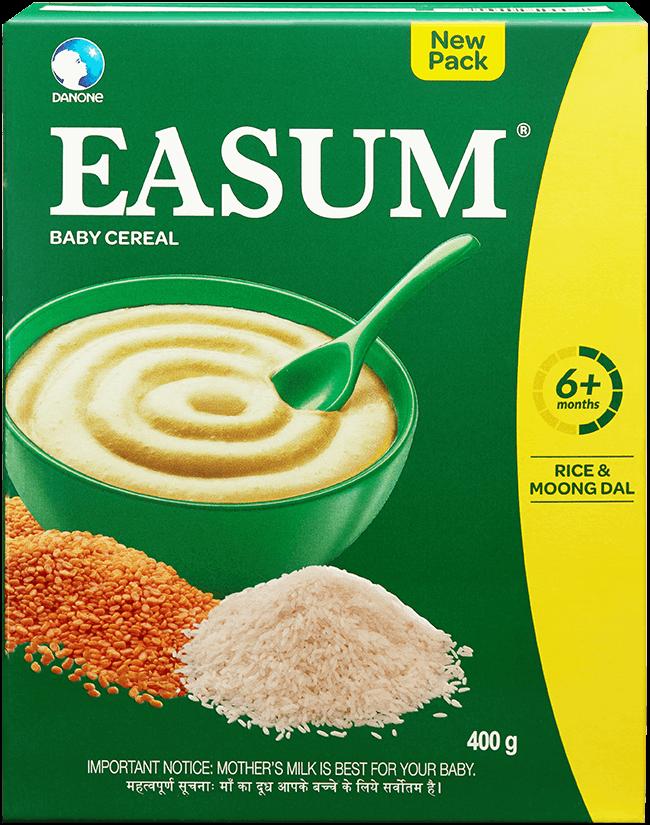 Easum Milk Free Baby Cereal Refill, Easum Baby Food Powder