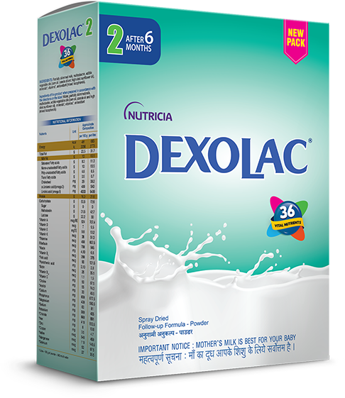 Dexolac Stage 2 Follow Up Formula Refill