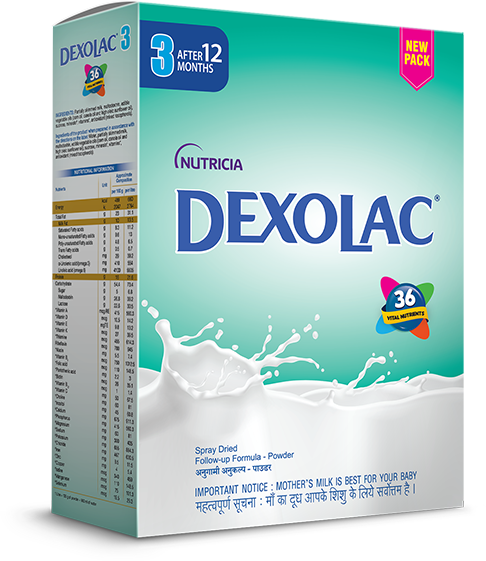 Dexolac Stage 3 Follow Up Formula Refill