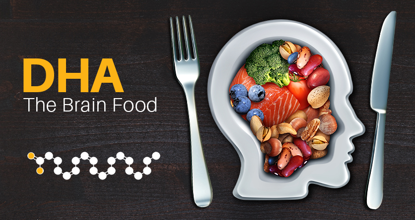 DHA – THE BRAIN FOOD