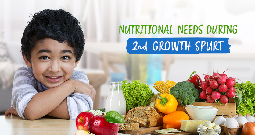 Nutritional Needs During 2nd Growth Spurt