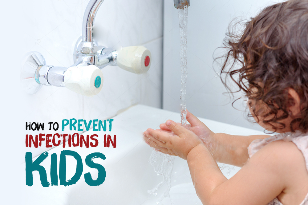 How to Prevent Infections in Kids