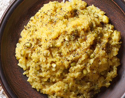 Brown Rice & Moong Dal Khichdi