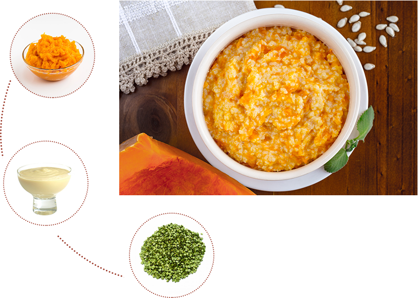 Pumpkin Rice Porridge