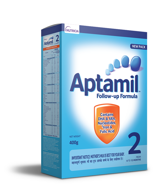 Aptamil Follow Up Formula Stage 2 (6-12 mos)