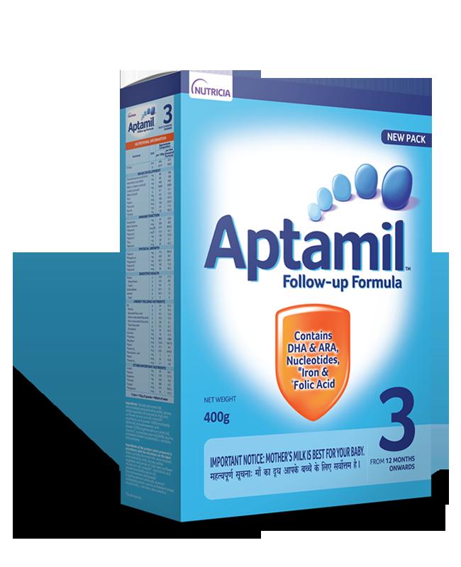 Aptamil Follow Up Formula <br> Stage 3 (12-24 mos)