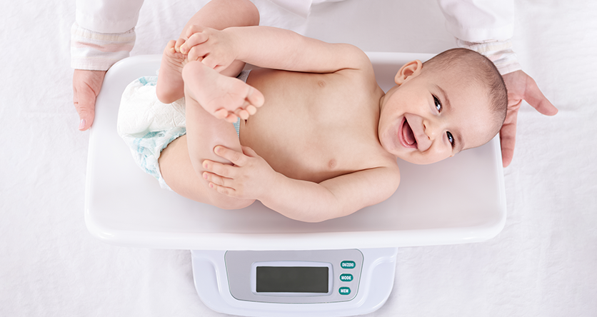 Know all about your Baby's Weight Gain